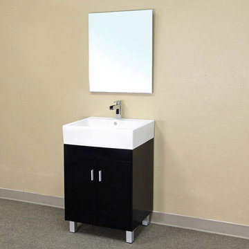 Bellaterra Home Squared Single Sink Vanity