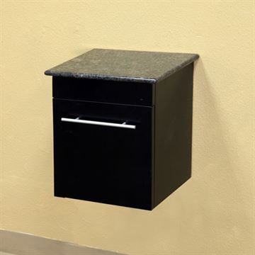 Bellaterra Home Wall Mount Side Cabinet