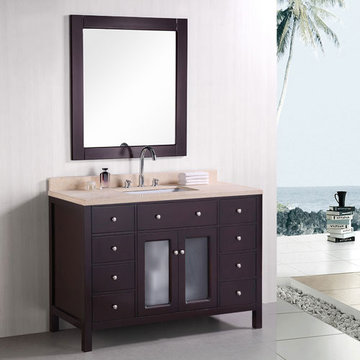 Design Element Venetian 48 Inch Single Sink Vanity