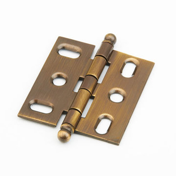 Schaub Ball Tip Mortise Cabinet Hinge
