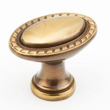 Schaub Montcalm Oval Cabinet Knob