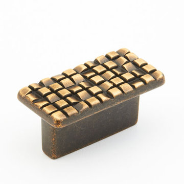 Schaub Mosaic Rectangle Cabinet Knob