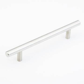 Schaub Stainless Steel 128mm Bar Cabinet Pull