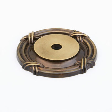 Schaub Versailles Round Backplate For Knob