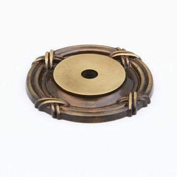 Schaub Versailles Round Backplate For Knob