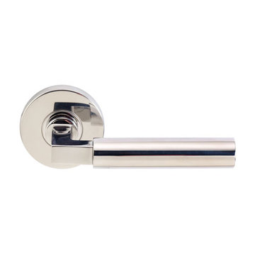 Unison Hardware Aurora 2 3/4 Inch Passage Lever Door Set With Round Rosette