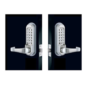 Codelocks Heavy Duty Mechanical Back To Back Code Free Tubular Deadbolt Entry Set
