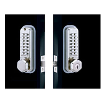 Codelocks Light Duty Mechanical Back To Back Tubular Deadbolt Entry Set