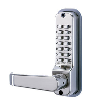 Codelocks Mechanical Back To Back Tubular Deadbolt Entry Set With Code Free Option