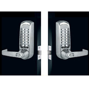 Codelocks Mechanical Back To Back Tubular Deadbolt Entry Set