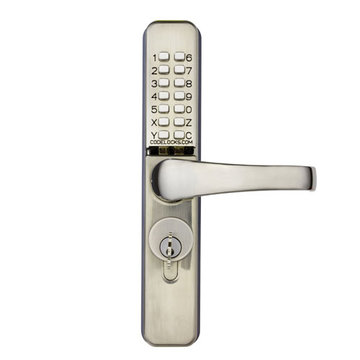Codelocks Mechanical Narrow Style Tubular Deadbolt Entry Set