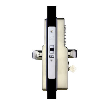 Codelocks Mechanical Narrow Style Tubular Deadbolt Entry Set With Code Free Option