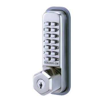 Codelocks Mechanical Surface Deadbolt With Key Override