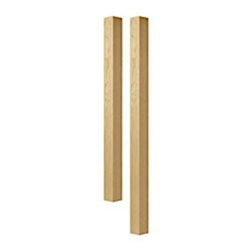 Designs of Distinction 3 Inch Square Bar Column Island Leg