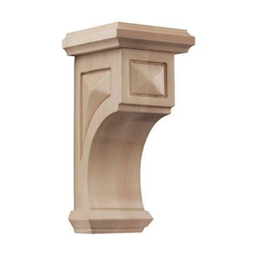 Designs of Distinction 6 3/4 Inch Apex Mission Style Corbel