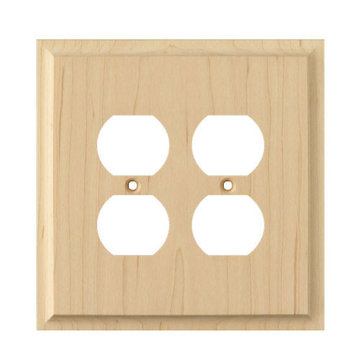 Designs of Distinction Double Duplex Switchplate