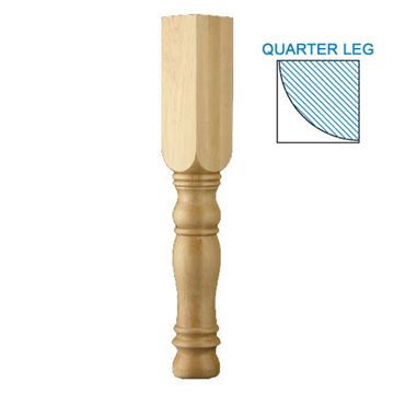 Designs Of Distinction English Country Quarter Column Corner Post