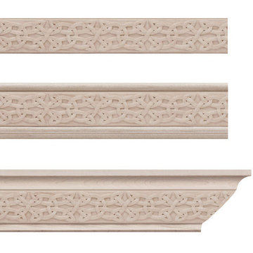 Designs Of Distinction Gaelic Crown Molding Insert Only