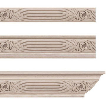 Designs Of Distinction Nouveau Crown Molding Insert Only