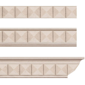 Designs Of Distinction Pinnacle Crown Molding Insert Only