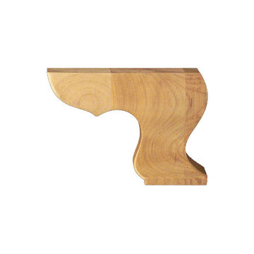 Designs of Distinction Plain Hampton Right Bracket Bun Foot