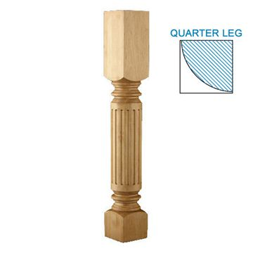 Designs Of Distinction Roman Classic Fluted Quarter Column Corner Post