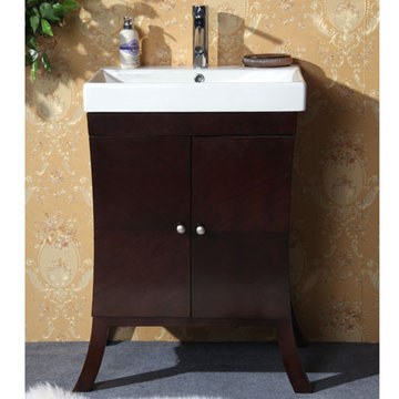 Legion Furniture 24 Inch Vanity With Ceramic Top