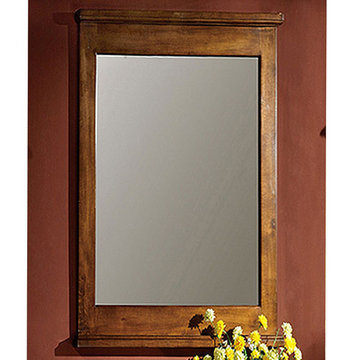 Legion Furniture Grace 24 Inch Light Walnut Mirror
