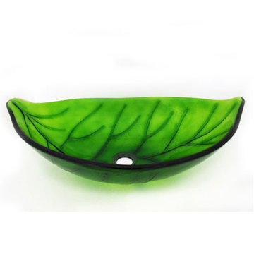 Legion Furniture Kathleen Tempered Glass Vessel Sink