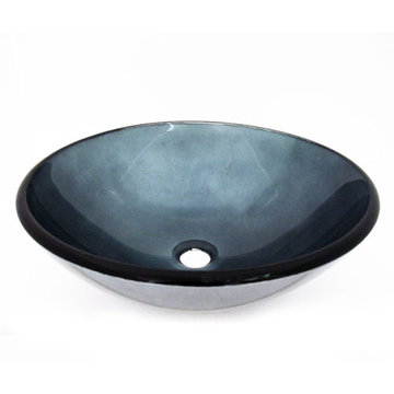 Legion Furniture Nicole Tempered Glass Vessel Sink