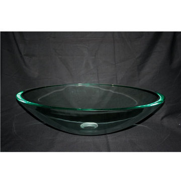 Legion Furniture Tina Tempered Glass Vessel Sink