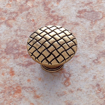 Jvj Hardware Barcelona Collection Basket Weave Knob