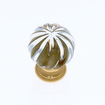 Jvj Hardware Classic Collection Fluted Glass Knob