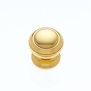 Jvj Hardware Classic Collection Knob With Grooved Top