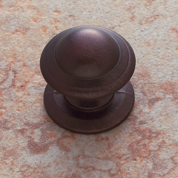 Jvj Hardware Classic Collection One Piece Knob With Backplate
