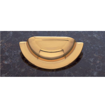Jvj Hardware Classic Collection Smooth Cup Bin Pull