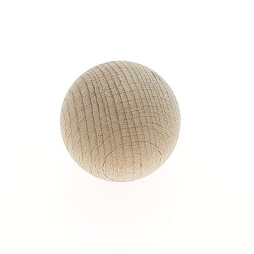 Jvj Hardware Classic Wood Collection Unfinished Ball Knob