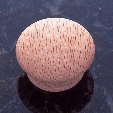 Jvj Hardware Classic Wood Collection Unfinished Round Knob