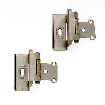Jvj Hardware Full Wrap Overlay Self Closing Hinge