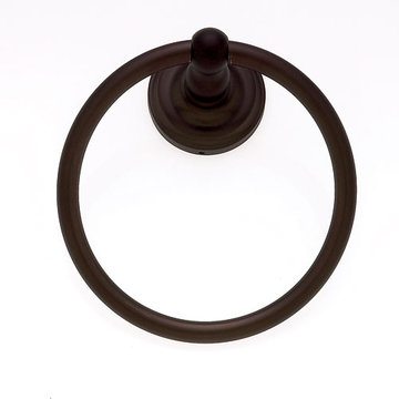 Jvj Hardware Highland Series Towel Ring