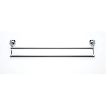 Jvj Hardware Liberty Series Double 24 Inch Towel Bar