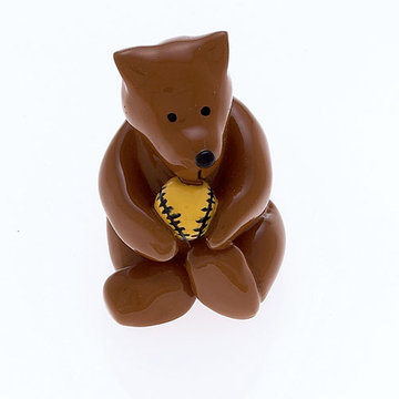 Jvj Hardware Novelty Collection Brown Baby Bear Knob