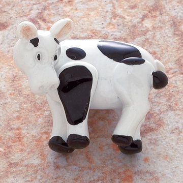 Jvj Hardware Novelty Collection Cow Knob