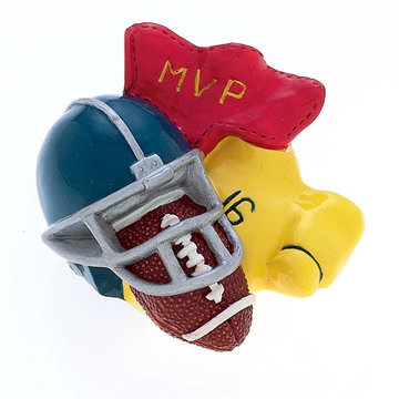 Jvj Hardware Novelty Collection Mvp Football Player Knob