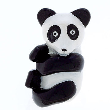 Jvj Hardware Novelty Collection Panda Bear Knob