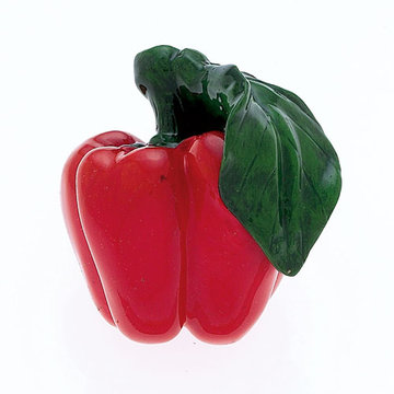 Jvj Hardware Novelty Collection Red Bell Pepper Knob