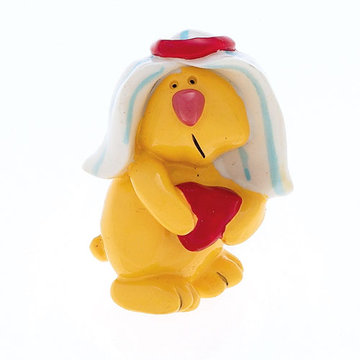 Jvj Hardware Novelty Collection Yellow Bunny Rabbit Knob