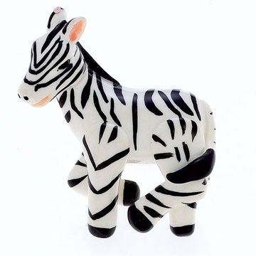 Jvj Hardware Novelty Collection Zebra Knob