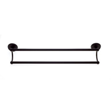 Jvj Hardware Paramount Series 24 Inch Double Towel Bar