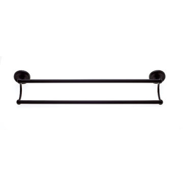 Jvj Hardware Prestige Series 24 Inch Double Towel Bar